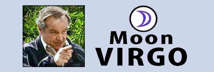 Jack Nicholson Virgo Moon