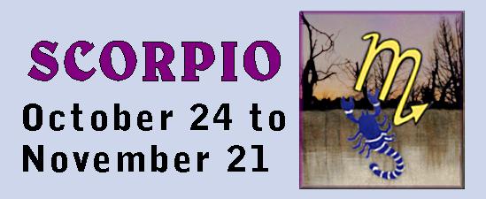 season of fall, Scorpio
