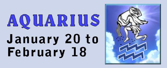 traits of zodiac signs, Aquarius