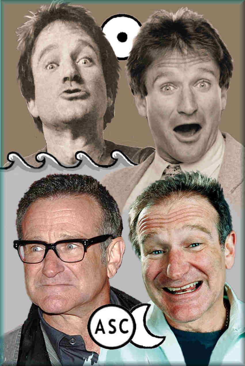 psychological nature, Robin Williams