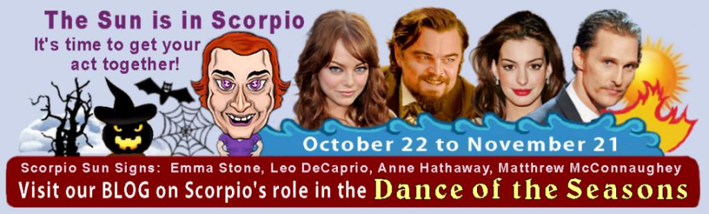 Scorpio's Dance in the Seasons